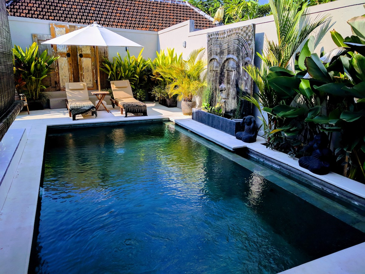 Typical villa in Seminyak